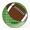 "Milo Gift Shop Football 10"" Melamine Personalized Plate"