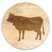 """Martins Homewares The Vineyard Cow """"Le Vache"""" Trivet"""