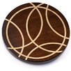 Martins Homewares Artisan Woods Intersecting Lines Lazy Susan