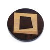Martins Homewares Artisan Woods Abstract Square Trivet