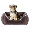 Sleep Philosophy Keane  Quilted Orthopedic Foam Rectangular Cuddler Bloster Dog Bed