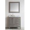 "Eviva Aberdeen 36"" Single Modern Bathroom Vanity Set"