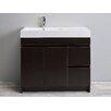 """Eviva Beach® 39"""" Single Modern Bathroom Vanity Set"""