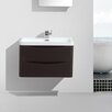"Eviva Smile® 30"" Single Modern Bathroom Vanity Set"
