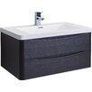 """Eviva Smile 36"""" Single Modern Bathroom Vanity Set"""