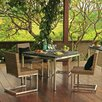 Thos Baker Palms 5 Piece  Dining Set