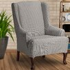 CoverWorks Landon Wing Chair Slipcover
