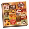Picture it on Canvas Coffee Lovers Coffee Collage Colorful Vintage Advertisement on Wrapped Canvas