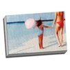 Picture it on Canvas Expressionit Beach Balloon Colorful Graphic Art on Wrapped Canvas