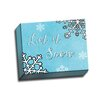 Picture it on Canvas Let It Snow by Rosa Vila Textual Art on Wrapped Canvas