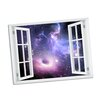 Picture it on Canvas Galaxy Paradise Window Art Wall Decal