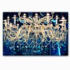 Picture it on Canvas 'Chandelier' Graphic Art on Wrapped Canvas