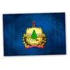 Picture it on Canvas 'Vermont' National Patriotic Flag' Painting Print