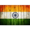 Picture it on Canvas 'India National Patriotic Flag' Painting Print