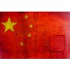 Picture it on Canvas 'Vietnam Flag' Painting Print