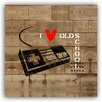 Picture it on Canvas 'Old School Video Game' Graphic Art on Wrapped Canvas