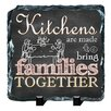 Picture it on Canvas 'Slate Quote Bring Families Together' Wall Art on Canvas