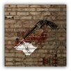 Picture it on Canvas 'Bang Faux Gun Pistol' Graphic Art on Wrapped Canvas