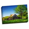 Picture it on Canvas 'Old Backyard Barn' Photographic Print on Wrapped Canvas