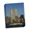 Picture it on Canvas 'Twin Towers' Photographic Print Wrapped Canvas