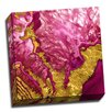 Picture it on Canvas Gemstone 'Pink Geode' Graphic Art on Wrapped Canvas