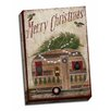Picture it on Canvas 'Camper Rustic Christmas' Graphic Art Wrapped Canvas