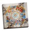 Picture it on Canvas 'Gaudi Mosaic Center Circle I' Graphic Art on Wrapped Canvas