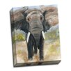 Picture it on Canvas 'Elephant' Painting Print Wrapped Canvas