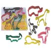 R & M International Corp. 6 Piece Safari Animal Cookie Cutter Set
