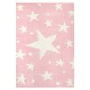 Livone GmbH Stars Children's Rug in Pink
