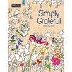Lang Simply Grateful Adult Coloring Book