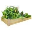8 ft x 4 ft Cedar Raised Garden - Greenes Fence Planters
