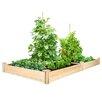Cedar Raised Garden - Size: 7 inch High x 96 inch Wide x 48 inch Deep - Greenes Fence Planters