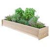 Cedar Planter Box - Size: 7 inch High x 48 inch Wide x 11 inch Deep - Greenes Fence Planters