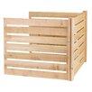 Greenes Fence edar Wood 23 cu. ft. Stationary Composter Add-On Kit