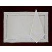 Fino Lino 8 Piece Handmade Hemstitch Linen Placemat Set