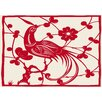 Lés papiers de Ninon Red Bird Graphic Art