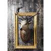Lés papiers de Ninon Poster Framed deer, Fotodruck