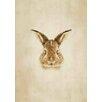 Lés papiers de Ninon Pixelled Bunny Graphic Art