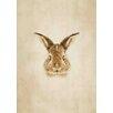 Lés papiers de Ninon Poster Pixelled Bunny, Grafikdruck