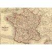 Lés papiers de Ninon French Map Graphic Art