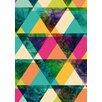 Lés papiers de Ninon Poster Kaleidoscope, Grafikdruck