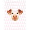 Lés papiers de Ninon Pink Pig Graphic Art