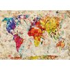 Lés papiers de Ninon Poster All The World, Kunstdruck