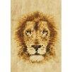 Lés papiers de Ninon Poster Dotted Lion, Grafikdruck