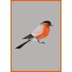 Lés papiers de Ninon Poster RedBird, Grafikdruck