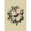 Lés papiers de Ninon Butterfly Flowers Graphic Art