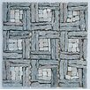 Intrend Tile Landscape Wonder Random Sized Stone Mosaic Tile in Gray
