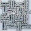 Intrend Tile Landscape Random Sized Stone Mosaic Tile in Gray
