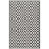 Bungalow Rose Montauk Ivory/Black Area Rug